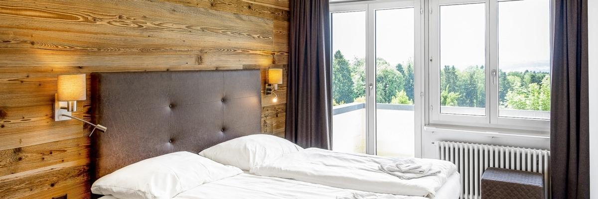 Seminarhaus Chlotisberg Doppelzimmer zugeteiltes Bad