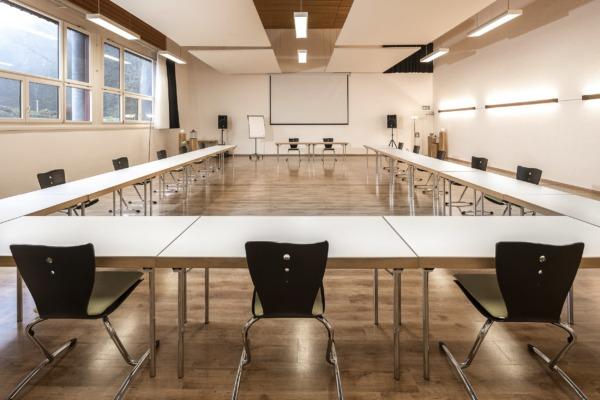 Seminarraum Balance Schulung U-Form